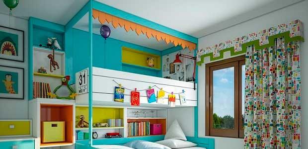 Услуги ремонта детскай комнаты.