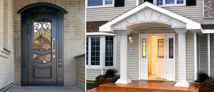 Покупка и установка входной металлической двери.