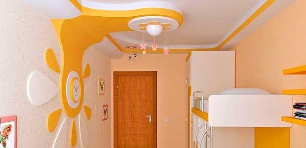 Комната из элементов гипсокартонных конструкций. Отшпаклевана и покрашена акриловой краской.