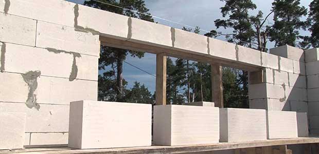 Строительство домов из газоблока, газобетона в Краснодаре.