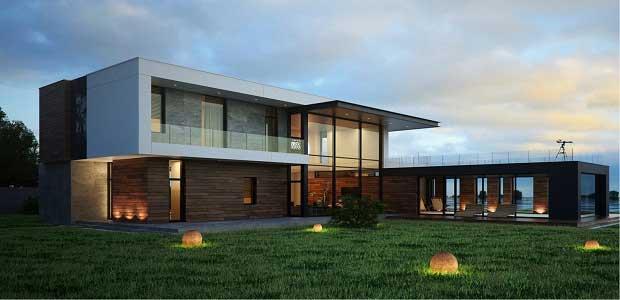 Строительство домов в Краснодаре, в определённом стиле.