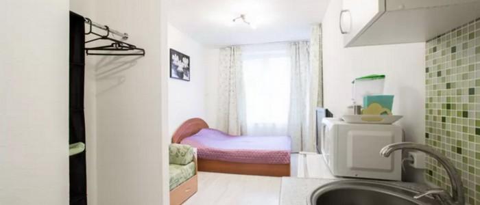 Особенности ремонта квартиры студии свободной планировки в Юбилейном микрорайоне.