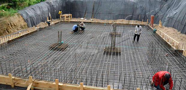 Фундамент – бетонные работы