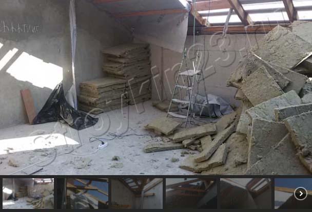 демонтажные работы частного дома.