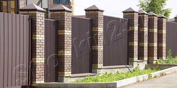 Забор из профнастила под любые запросы от компании «Стройкин23.ру»