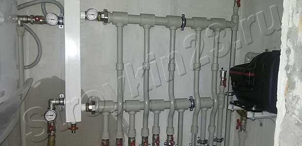 Безупречное качество монтажа системы отопления от компании «Стройкин23.ру»