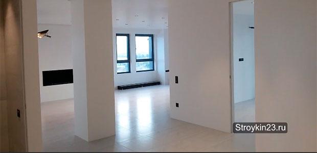 Ремонт 3 х комнатной квартиры по ул Буденого в Краснодаре